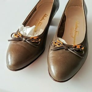 Salvatore Ferragamo loafers with tie bow